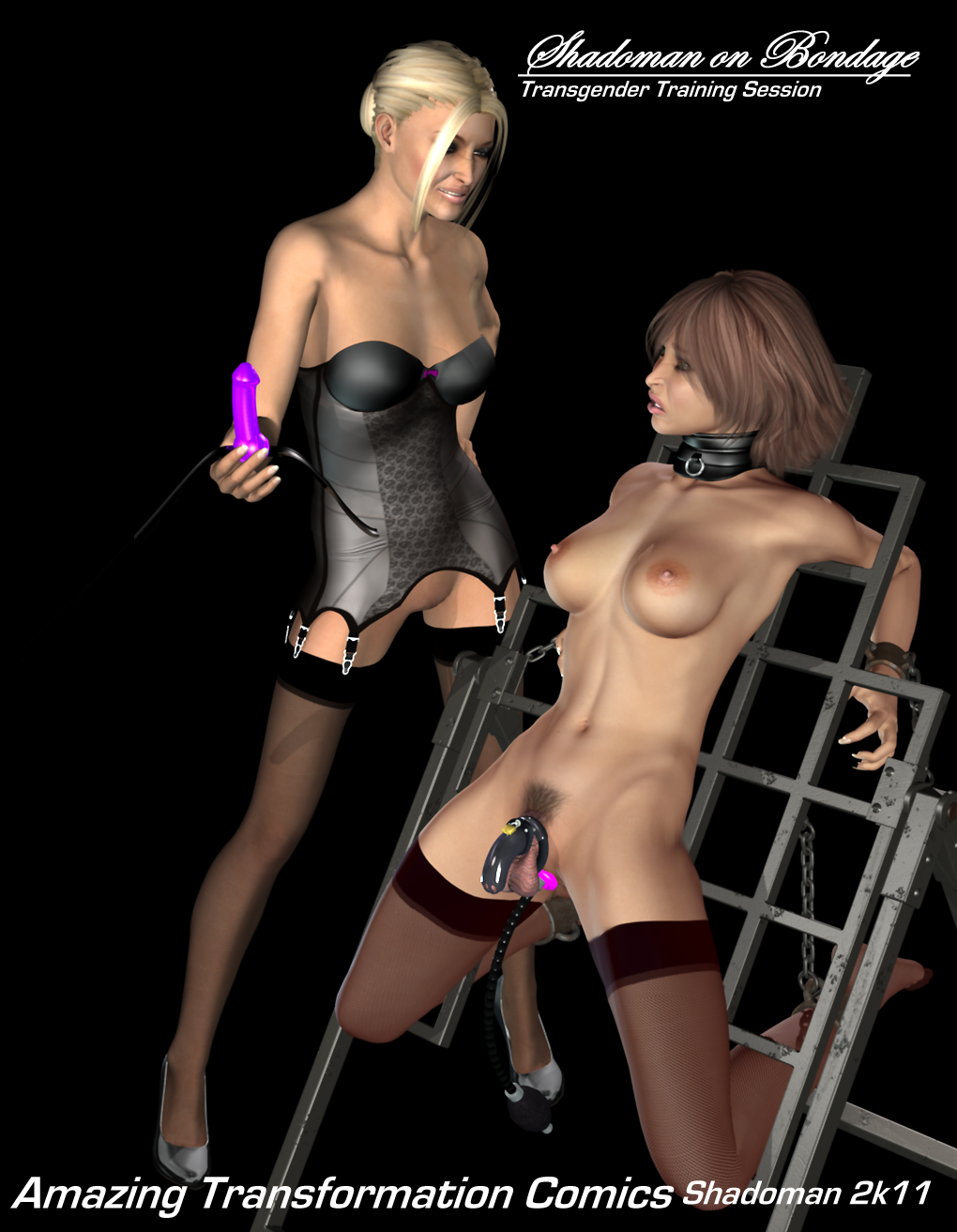 transexual bondage art